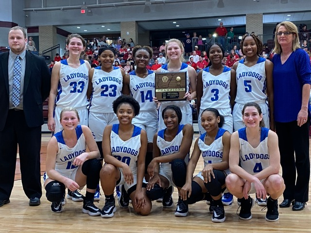 Ladydogs are 4A South Regional Champions