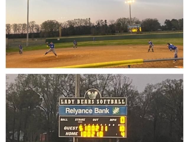 Bulldog Softball Defeats Woodlawn