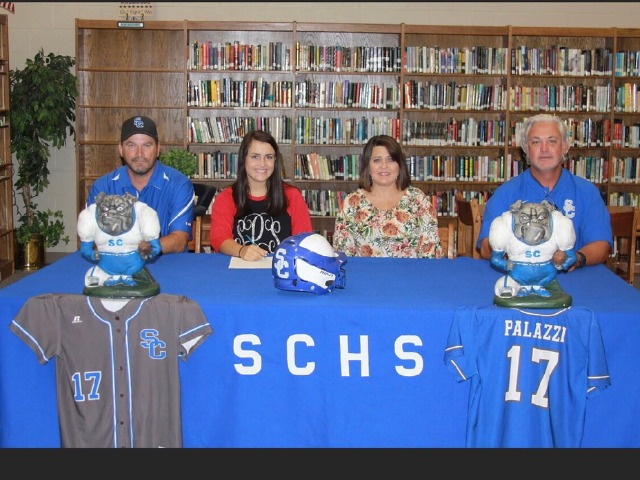 Palazzi Signs with NorthArk College