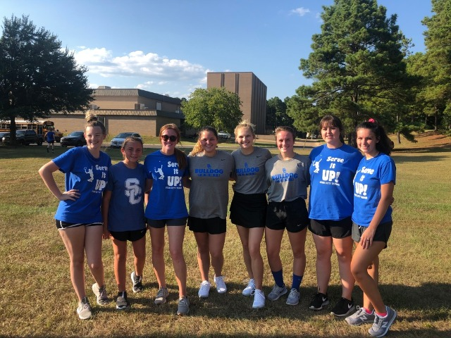 Girls Tennis Wins at Camden Fairview