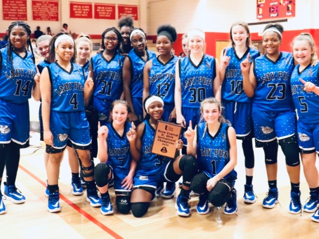 Ladypups Win Drew Central Junior High Invitational Tournament