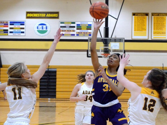Avondale overcomes slow start to get past Rochester Adams, 54-40
