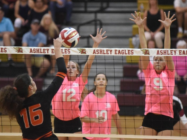 Ashley volleyball sweeps New Hanover
