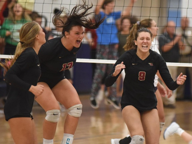 Ashley volleyball shows championship mettle