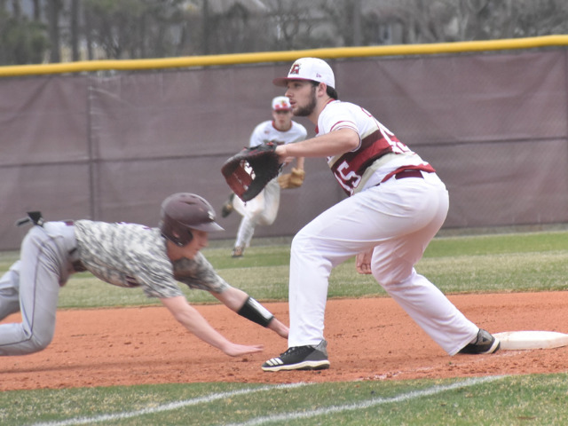 Ashley baseball opens season with comfortable victory