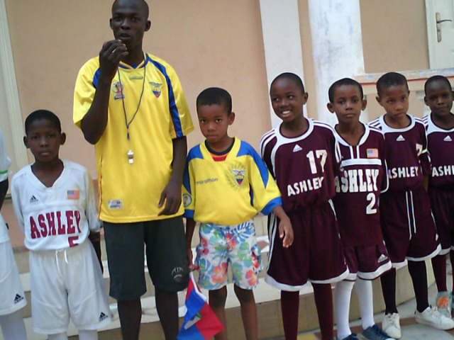 Ashley Soccer Donates Abroad