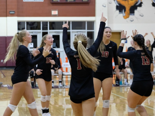Ashley volleyball knocked off in third round