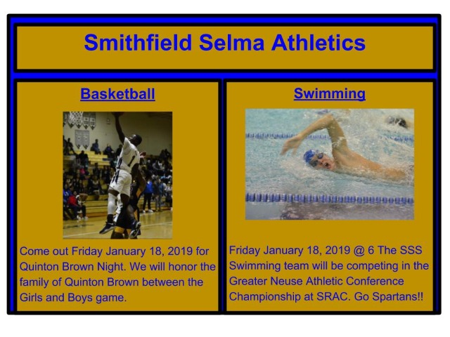 Sports Happenings Friday Jan 19, 2019