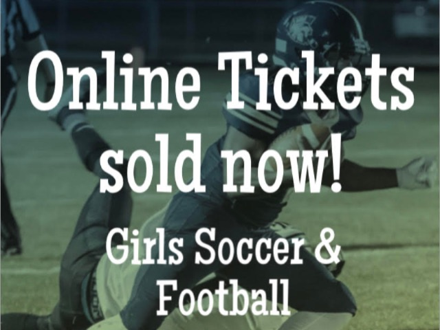 Get your Tickets online NOW!