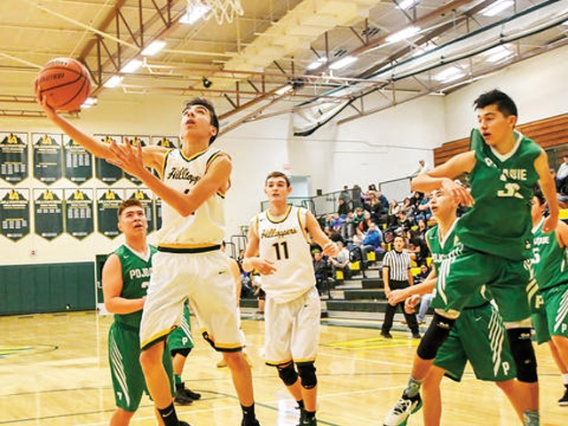 Balanced scoring proving to be key for boys basketball