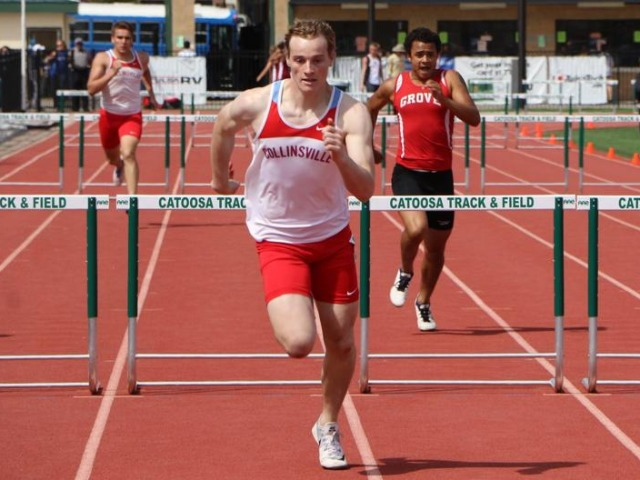 Collinsville's Malcolm Tillman a perfect fit for one of track's toughest events
