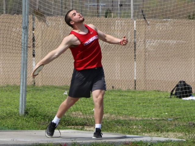 Collinsville's Zac Robbins wins discus state title