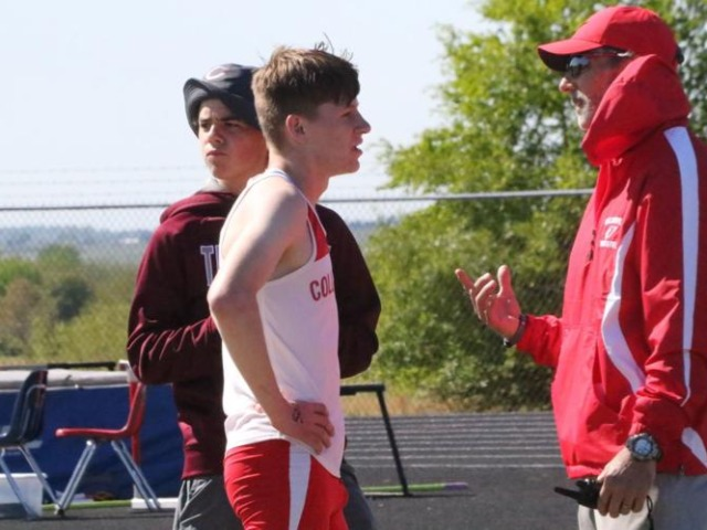 Collinsville boys shine at home track meet
