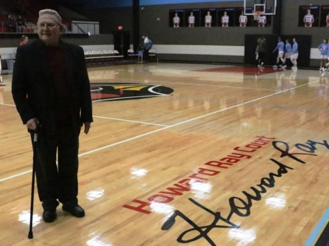 Collinsville dedicates Howard Ray Court; Cards split with Ponca City