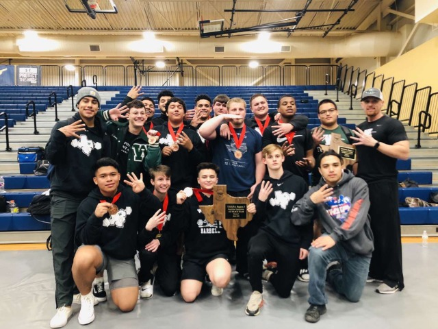 Iron Indians Win Regional Championship; 4th Time in School History