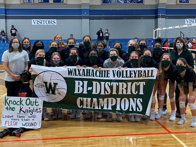 Volleyball Bi-District Champions