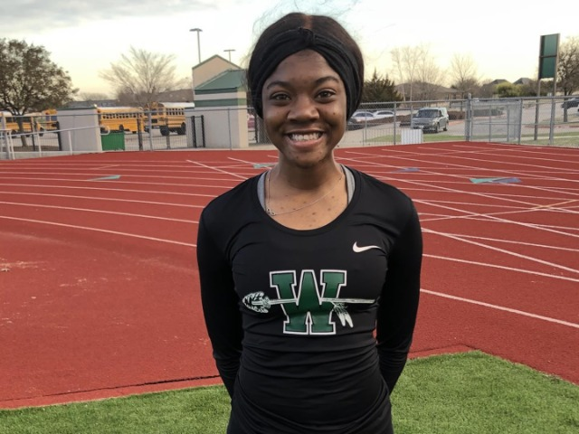 Bambi Henderson Hurdles to a New School Record
