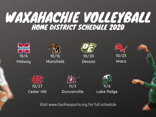 Image for Waxahachie Volleyball Releases Schedule