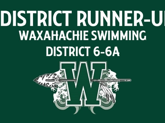Indian Swimmers Place 2nd In District 6-6A