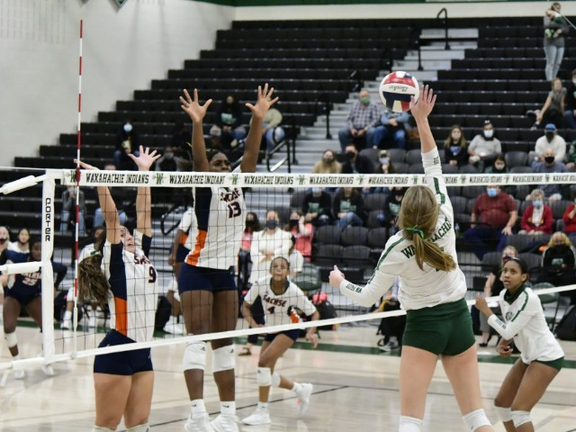Waxahachie Lady Indian volleyball falls to Sasche in 6A area playoffs