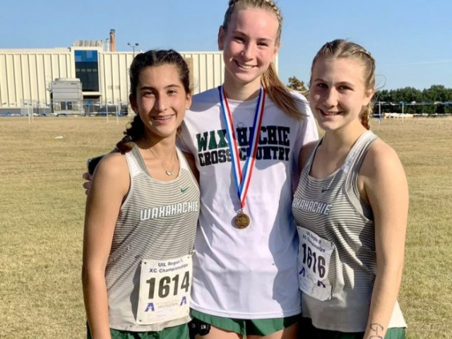 Curry, Moore and Jones make Waxahachie High history in 6A XC state championship meet
