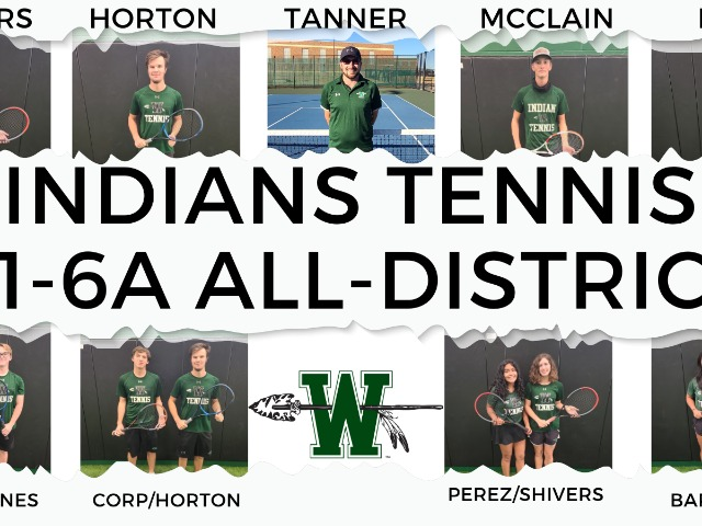 Tennis Nets All District Honors