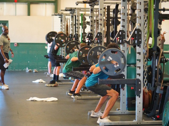 GALLERY: Strength/Conditioning/Instruction Camps