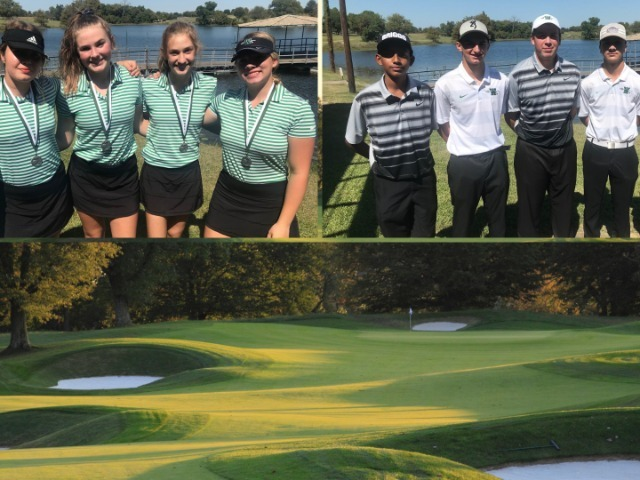 Golfers Compete in the Waxahachie JV fall Classic