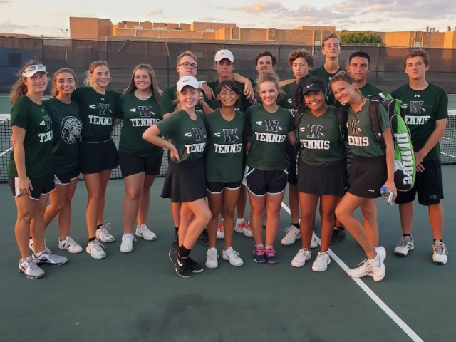 NDN Tennis Finishes Regular Season