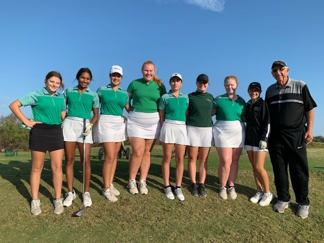Lady NDN Golf Compete in the Texas Two Step