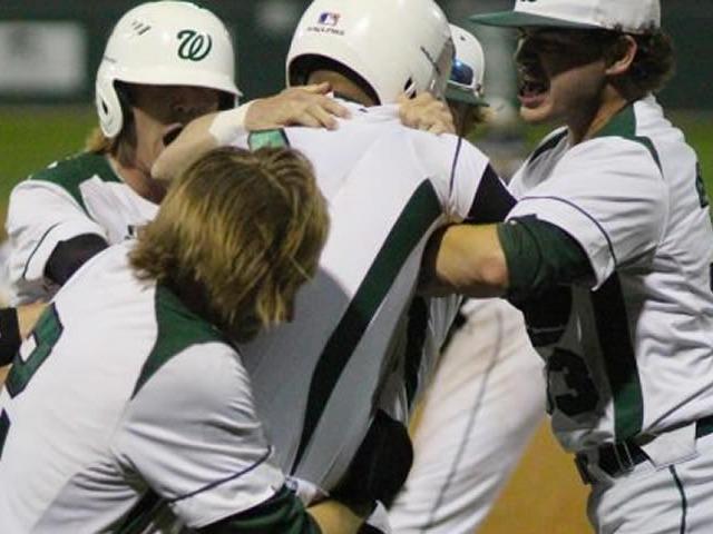 Walk-off win sends Waxahachie baseball to 6A postseason on Senior Night