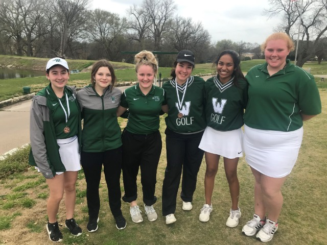 JV Girls Take 3rd Place at Hachie Invite