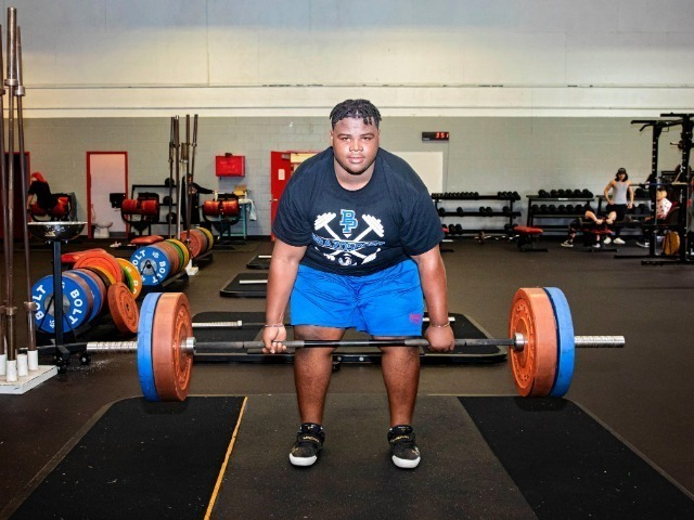 Brazosports BJ Moore placed 5th in the State Powerlifting Meet