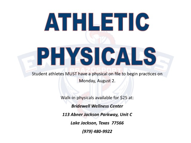Image for Athletic Physical Information