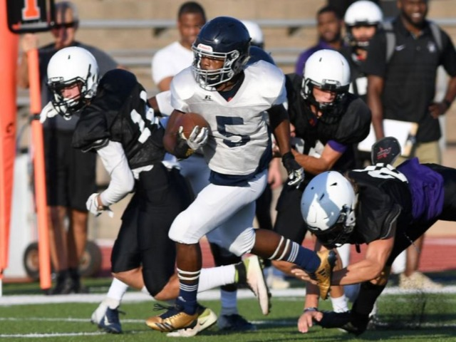 Bryan football team has successful first scrimmages