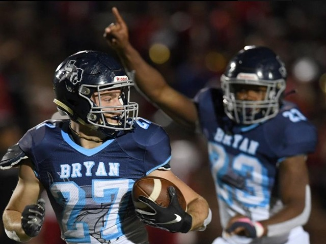 Bryan football team enjoys runaway win as Rogers earns 250th coaching victory
