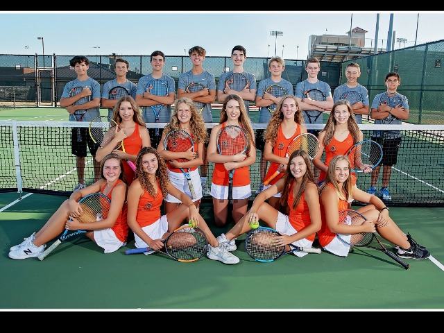 Image for Aledo High School Fall Team Tennis brings  home several District 5-5A awards