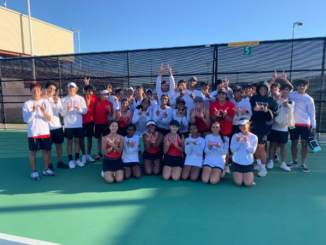 Coppell Tennis on a Roll