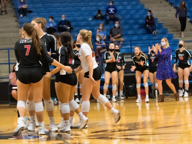 Cowgirls Force a 5-Set Battle With Plano West For Round Two