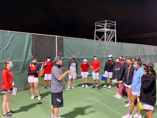 Coppell Tennis Tennis Team Improves Record To 7-2