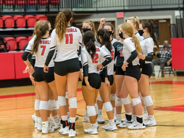 Cowgirls Give Plano West All They Can Handle in 5-Set Match