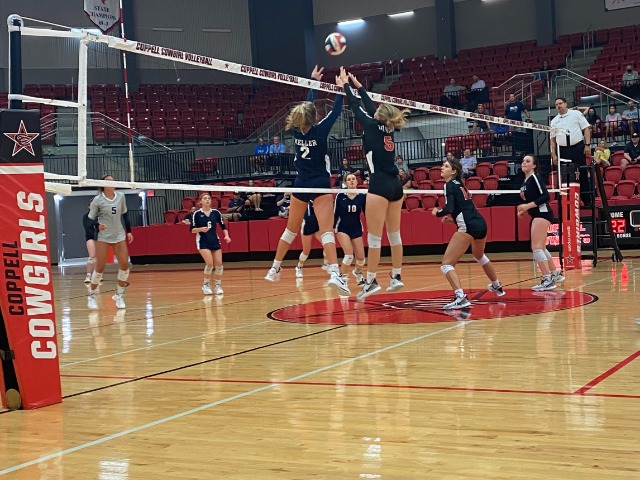 Coppell drops hard fought sets to Keller