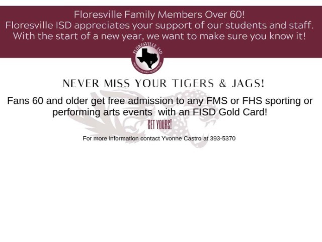Image for Floresville Gold Card