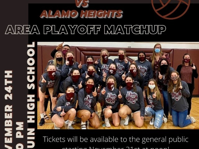 Image for Volleyball Area Playoff