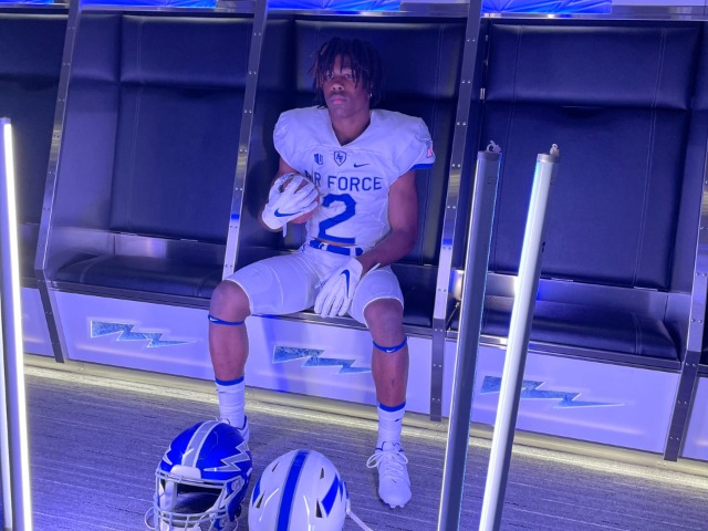 Image for Little Elm's Evans commits to Air Force