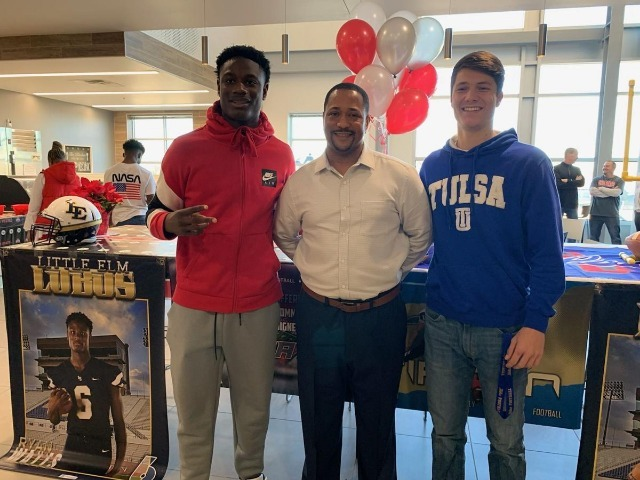 Little Elm's Watts, Tipton sign letters of intent