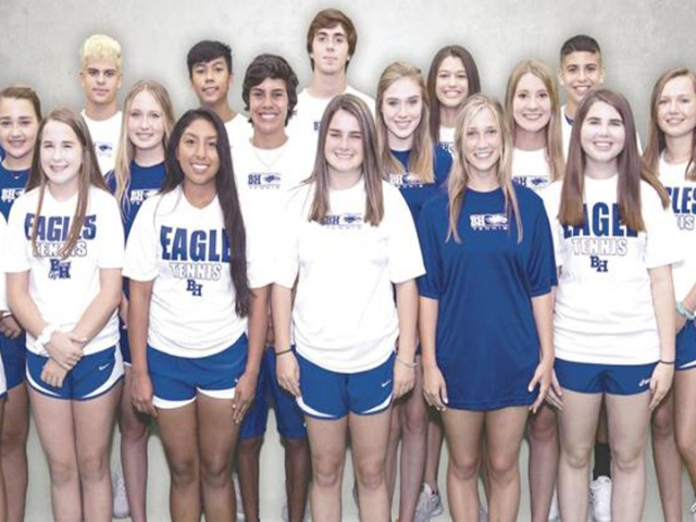 Image for Eagles tennis aims to claim district crown