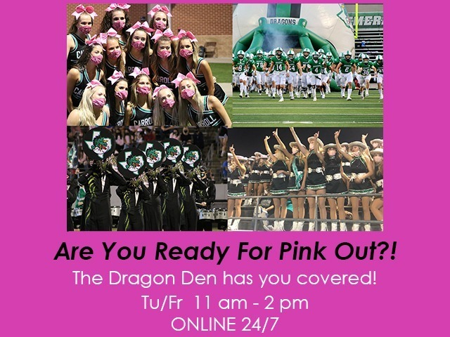 Image for PINK OUT 10/30/2020