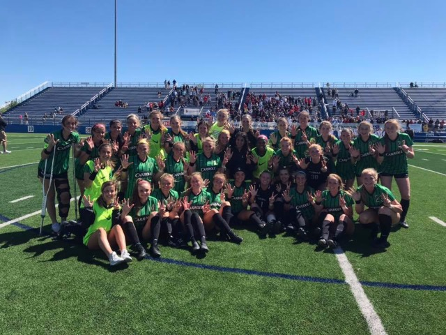 Southlake Carroll girls defeat Lake Travis 2-0, advance to the 6A state title game