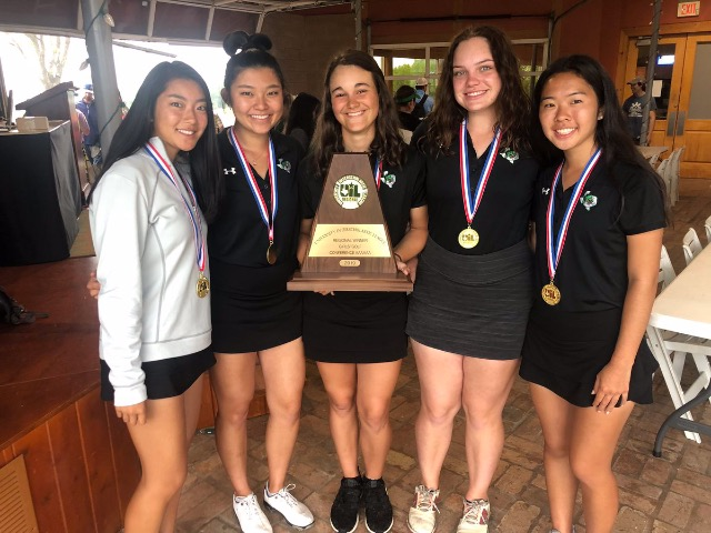 Lady Dragon Golf advances to State as the Region 1 Champions